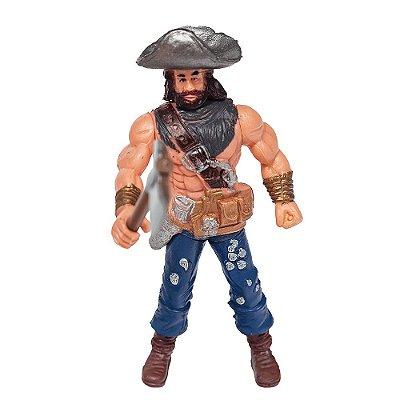 Boneco Piratas dos Sete Mares - Sem Camisa - Buba