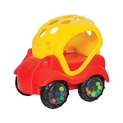 Baby Car - Vermelho e Amarelo - Buba