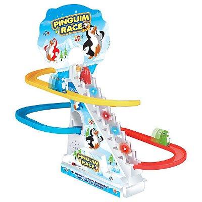 Jogo Pinguim Race - Braskit