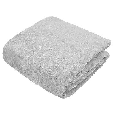 Cobertor Blanket Queen - Prata - Kacyumara