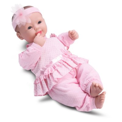 Boneca Bebês Coleção - Rosa - Divertoys