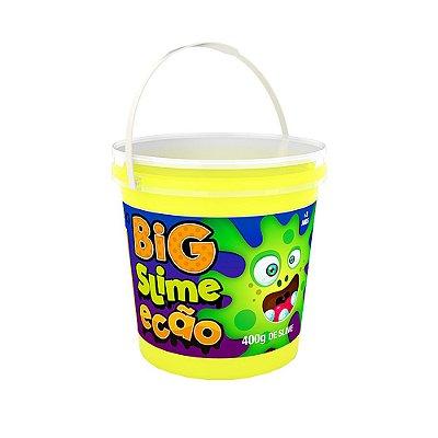 Big Slime Ecão 400g - Amarelo Neon - DTC