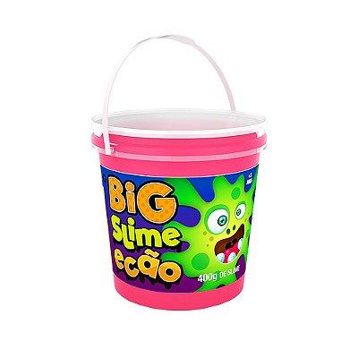 Big Slime Ecão 400g - Rosa Neon - DTC
