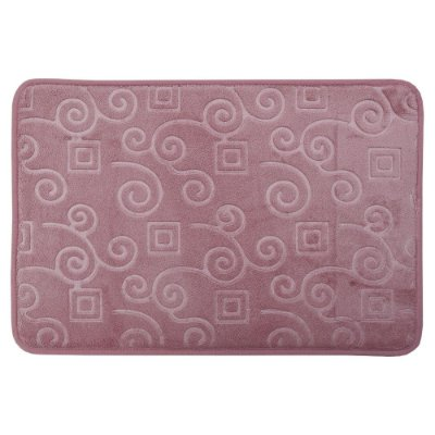 Tapete Para Banheiro Foam - Rosa - Realce Premium