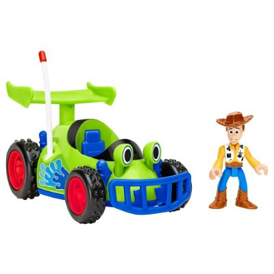 Imaginext Toy Story - Woody & R.C. - Mattel