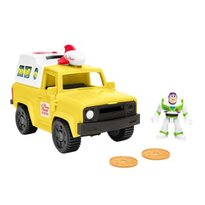 Imaginext Toy Story - Buzz Lightyear & Pizza Planet Truck - Mattel