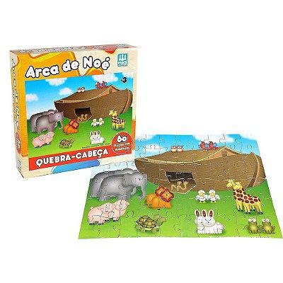 Quebra Cabeça Arca de Noé - 60 peças - Nig Brinquedos