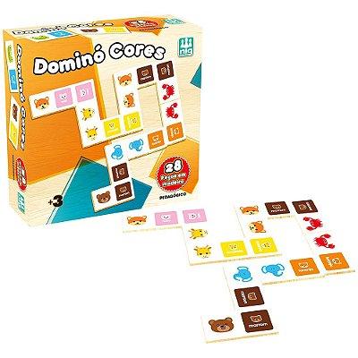 Dominó Cores - Nig Brinquedos