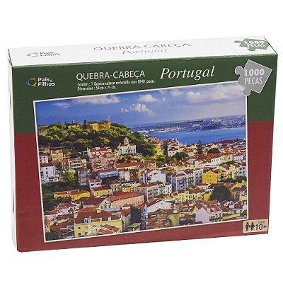 Quebra-Cabeça 1040 Peças - Portugal - Pais e Filhos