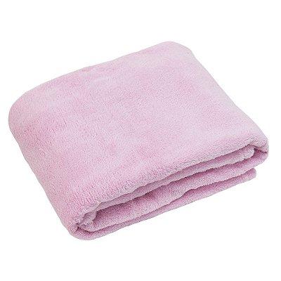 Cobertor Baby Liso 200g/m² - Rosa - Camesa