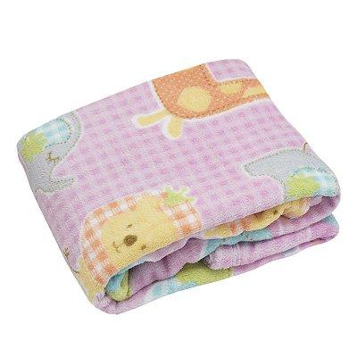 Cobertor Baby Estampado 200g/m² - Bichinho - Camesa