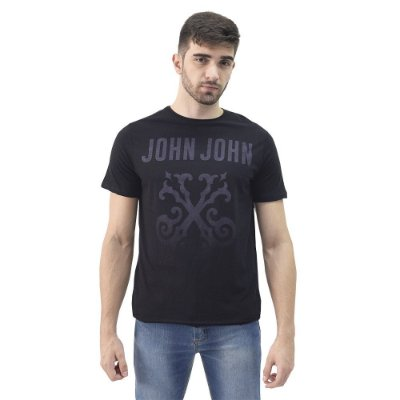 Camiseta Masculina Regular Fit - Super Logo - John John