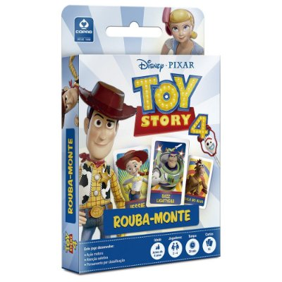 Jogo Rouba-Monte - Toy Story 4 - COPAG