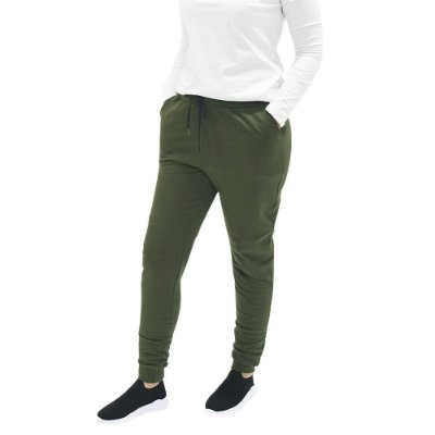 Calça Moletom Básica Feminina - Verde Militar - World Xtreme