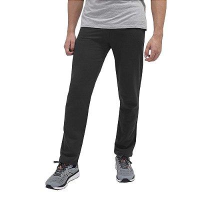 Calça Moletom Comfort Masculina - Preta - World Xtreme