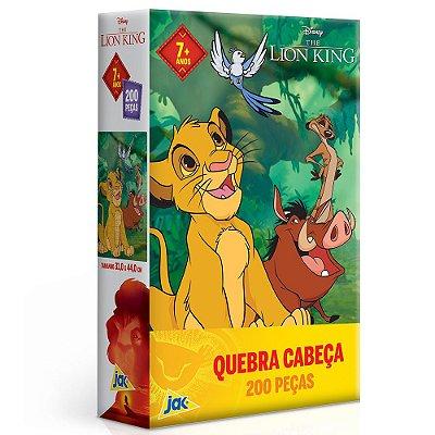 Quebra Cabeça O Rei Leão - 200 peças - Toyster