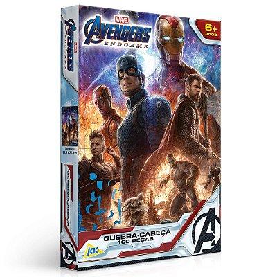 Quebra-Cabeça Avengers Ultimato Marvel - 100 peças - Toyster