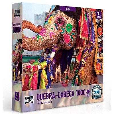 Quebra Cabeça Cores da Ásia - 1000 peças - Toyster