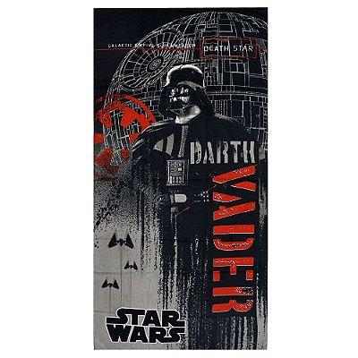 Toalha de Banho Aveludada - Darth Vender - Star Wars - Döhler