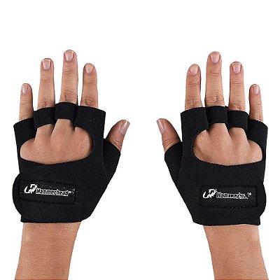 Luva de Musculação Feminina - Preto - Hammerhead