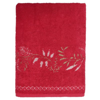 Toalha de Banho Analu - Vermelha - Karsten