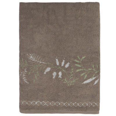 Toalha de Banho Analu - Marrom - Karsten