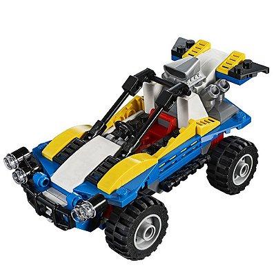 Lego Creator 3 em 1 - Buggy das Dunas - 147 peças - Lego