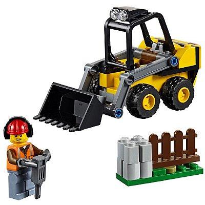 Lego City Trator de Construção - 88 peças - Lego
