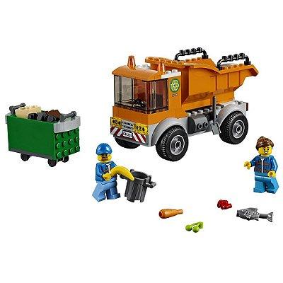 Lego City - Caminhão de Lixo - 90 peças - Lego