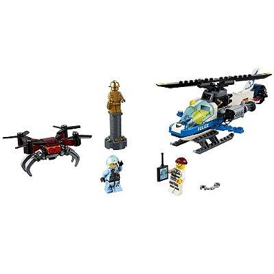 Lego City - Perseguição com Drone - 192 peças - Lego