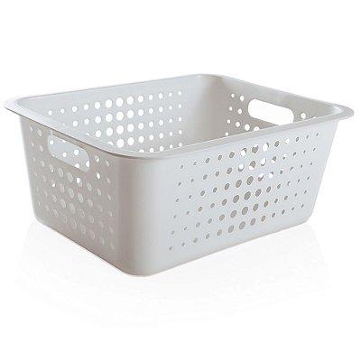 Caixa Organizadora Grande - Branco - Ou