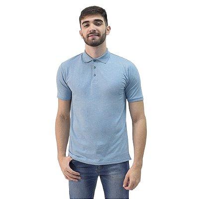 Camisa Polo Masculina - Azul Acinzentado - Yacht Master