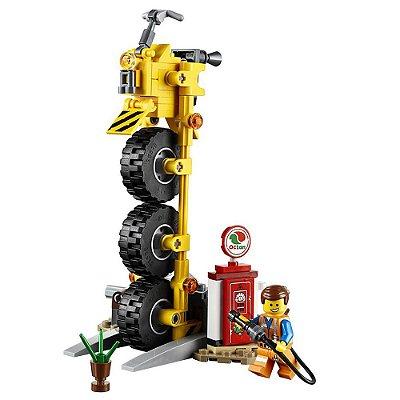 LegoThe Movie - Triciclo do Emmet - 174 peças - Lego