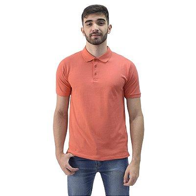 Camiseta Polo Confort Básica - Coral - Yacht Master