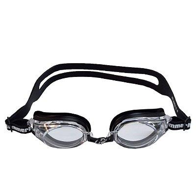 Óculos para Natação Atlanta 2.0 - Preto e Lente Transparente - Hammerhead