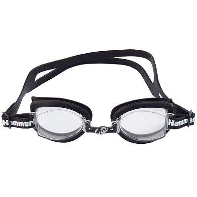 Óculos para Natação Fitness Preto - Hammerhead