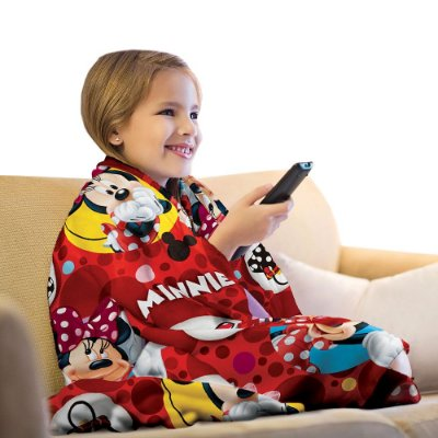 Manta Fleece Infantil - Minnie - Lepper