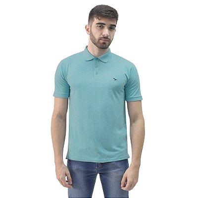 Camisa Polo Masculina - Azul Claro - Yacht Master