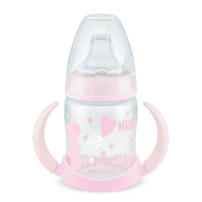Copo de Treinamento First Choice 150 ml - Rose & Blue - Rosa - NUK