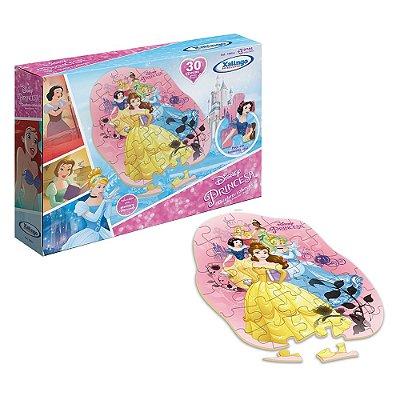 Quebra Cabeça Princesas da Disney - 30 peças - Xalingo