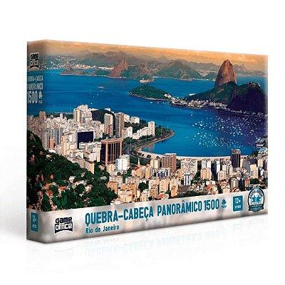 Quebra Cabeça Panorâmico - Rio de Janeiro - 1500 peças - Toyster