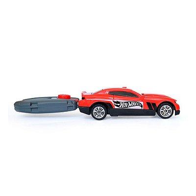 Chave Lançadora Radical - Hot Wheels - Vermelho - Barão Toys