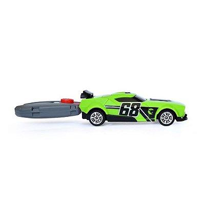Chave Lançadora Radical - Hot Wheels - Verde - Barão Toys