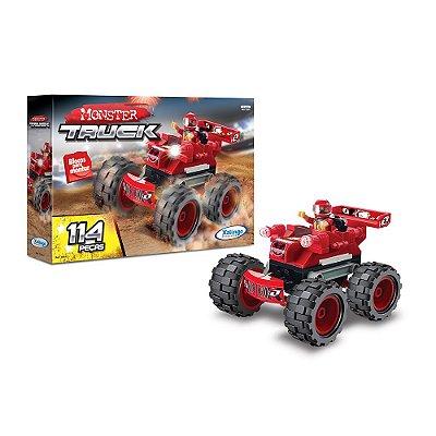 Blocos Para Montar - Monster Truck - 114 Peças - Xalingo