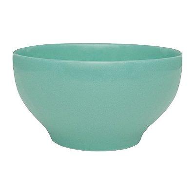 Tigela Bowl em Porcelana Azul Tiffany - 600 ml - Oxford