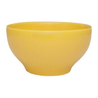 Tigela Bowl em Porcelana Amarela - 600 ml - Oxford