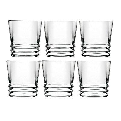 Jogo de Copos para Whisky Elegan - 6 peças - Mimo
