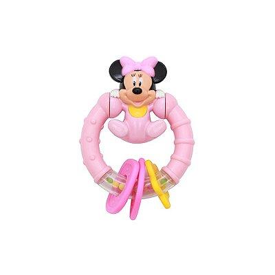 Chocalho Minnie - Rosa - Dican