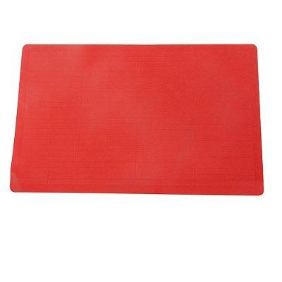 Folha de Silicone Antiaderente para Assar - Vermelho - Mimo Style