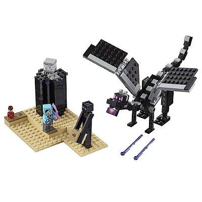 Lego Minecraft - Batalha final - 222 peças - Lego